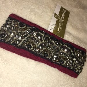 Accessories - Deep Red Head Band ❤️ NWT